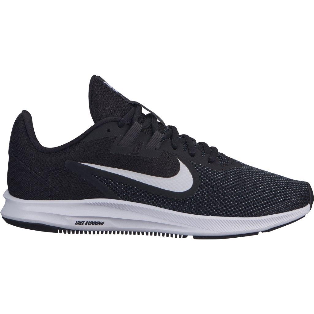 Nike Downshifter 9 hardloopschoenen dames zwart/wit